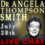 Dr. Angela Thompson Smith, Remote Viewing Science, Live Chat with TKR at the Dojo Psi 2009