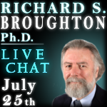Dr. Richard Broughton, Remote Viewing Science, Live Chat with TKR at the Dojo Psi 2009