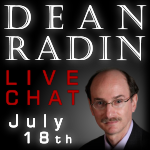 Dr. Dean Radin, Remote Viewing Science, Live Chat with TKR at the Dojo Psi 2009